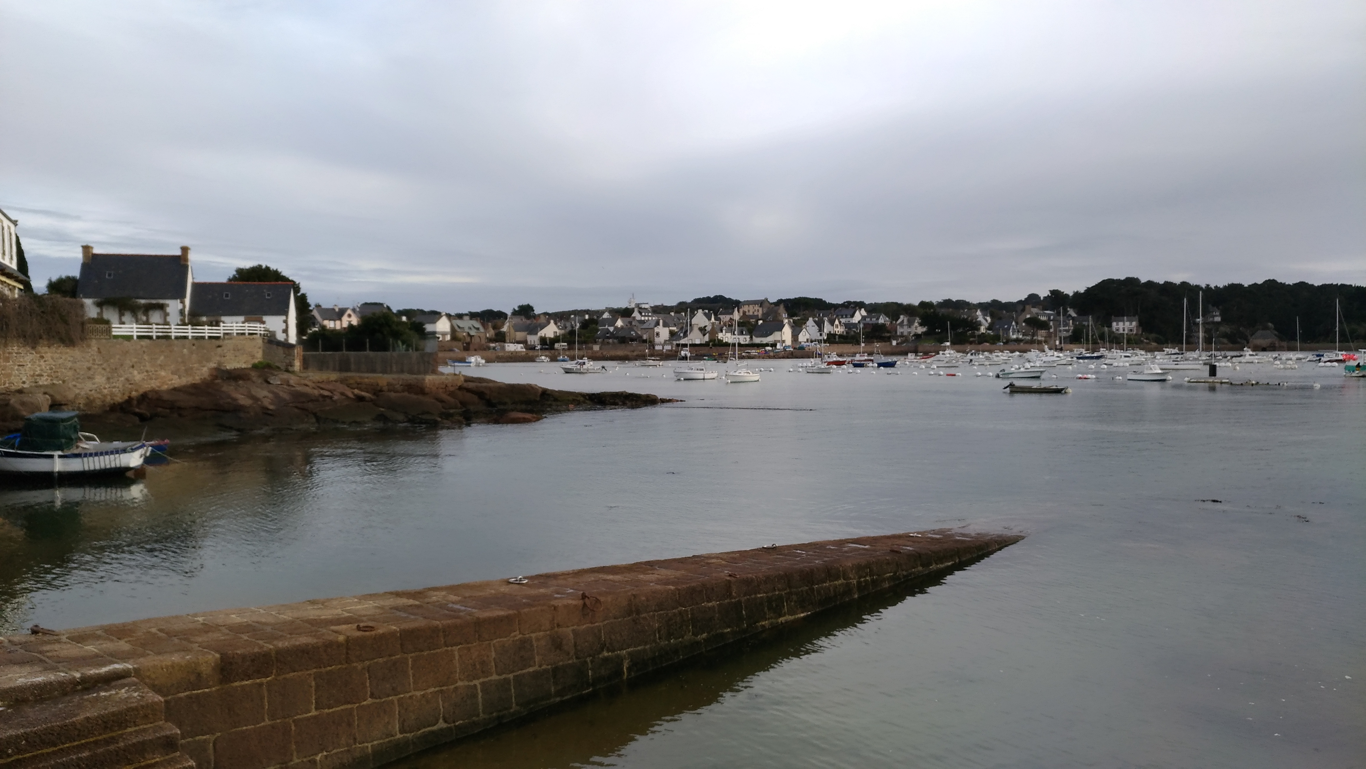 Village Harbor in Brittany