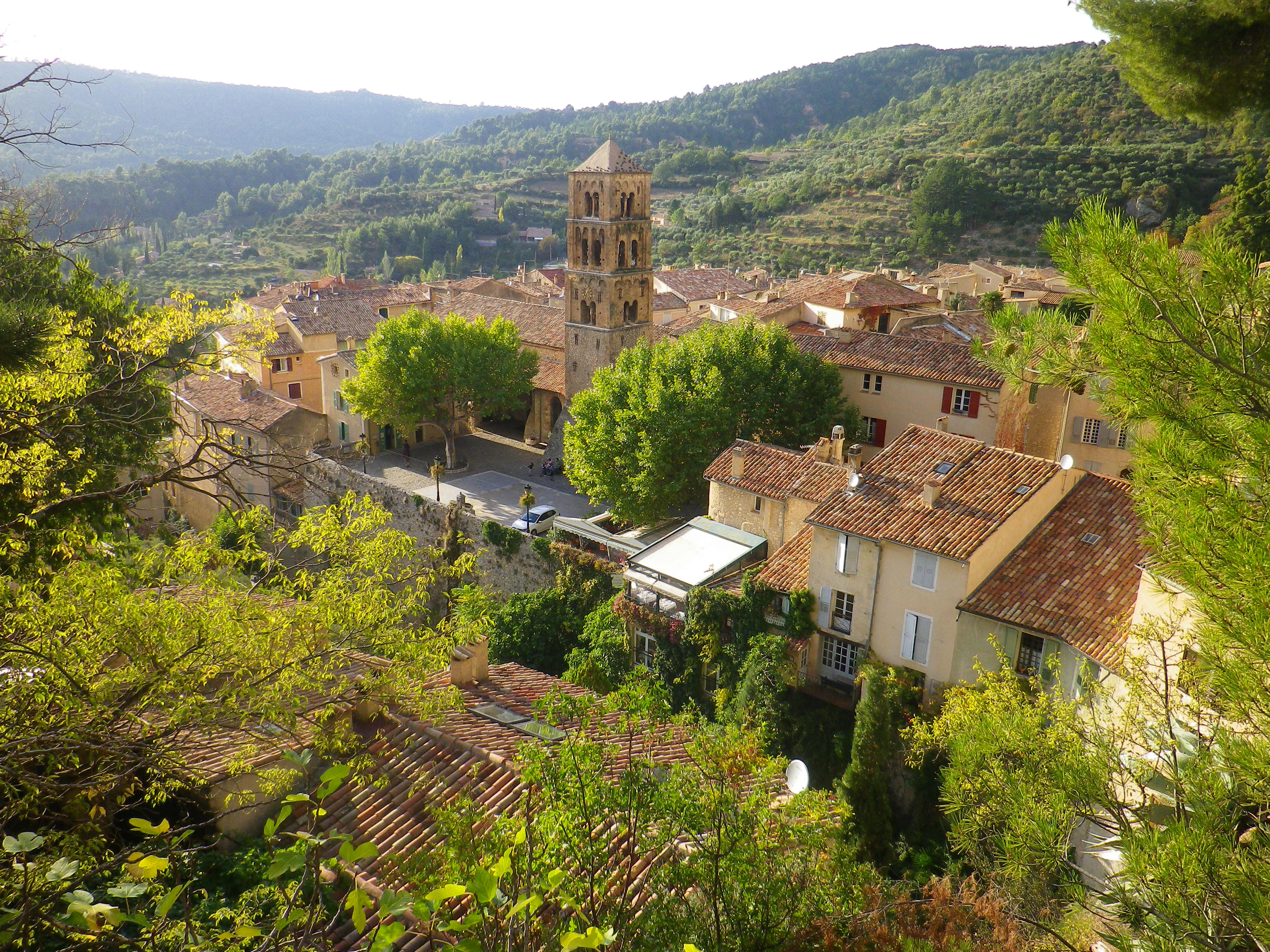 Moustiers-Sainte-Marie village in Provence