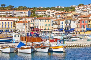 The vibrant port of Cassis, France