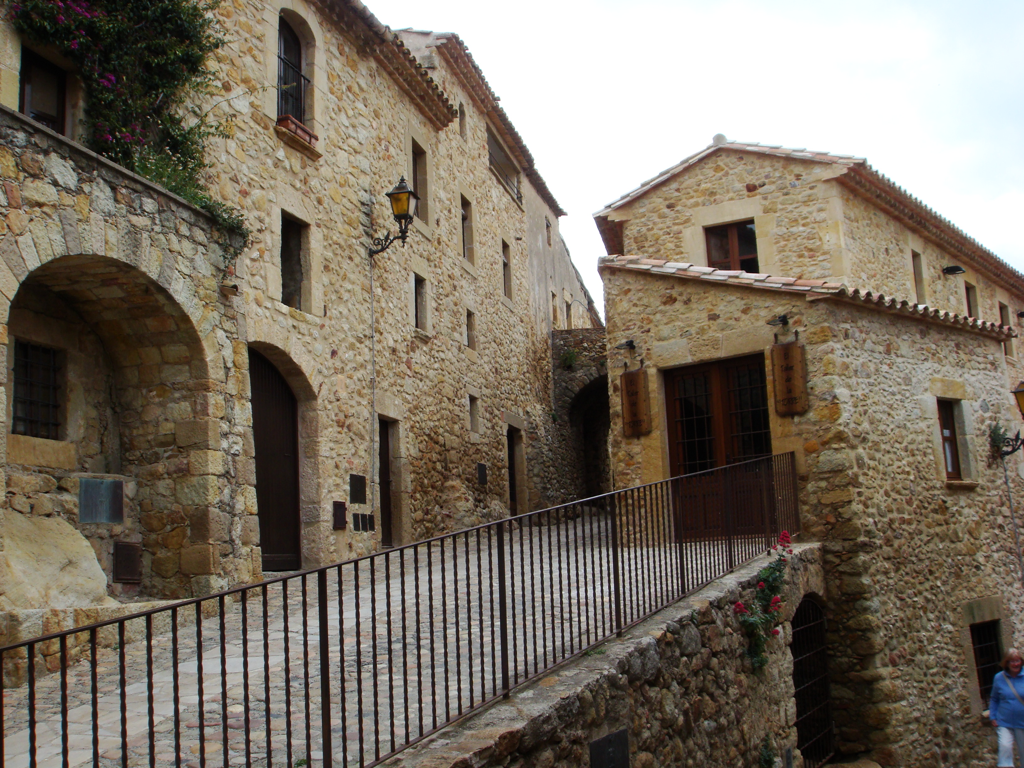 The medieval town of Peratallada, Spain