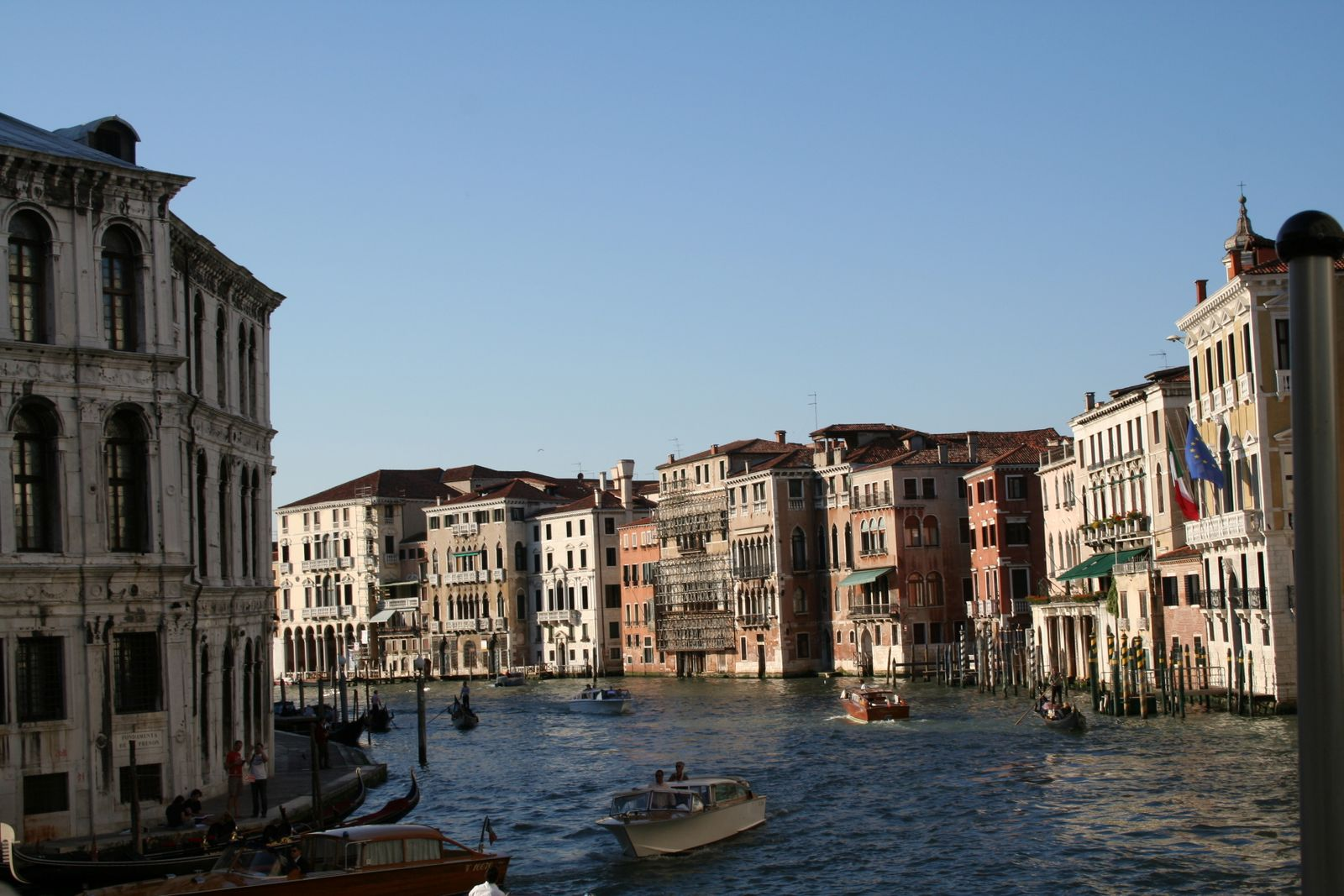 A canal from the iconic town of Venice, Italy