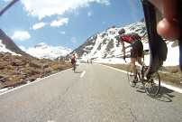 Tour du Mont Blanc on a road bike. 4 days, 3 countries: France, Switzerland and Italy. An international cycling adventure.