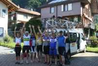 Cycling France and Switzerland with friends, a nature lover expedition