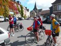 Visiting heritage site by bike at your own pace with a group of friends