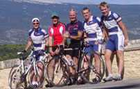 Ventoux to Alpe d'Huez, an Alpine scenic cycling route