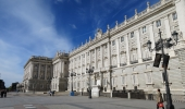 Admire the Madrid's royal palace