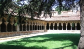 The cloister of the Saint-Pierre de Moissac Abbey
