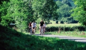 The itinerary takes you to quiet cycle paths