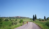 Cycle the quiet countryside roads of Tuscany