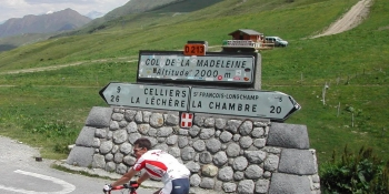 Tackle the Col de la Madeleine on your Geneva to Alpe d'Huez cycling adventure
