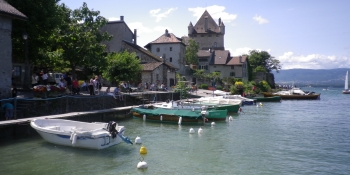 Yvoire is a medieval village known as one of the most beautiful in France
