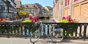 Your cycling trip will take you through beautiful villages