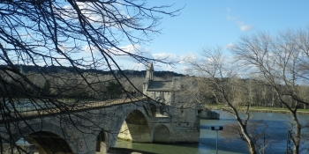 This cycling trip starts from Avignon, a charming town in Provence
