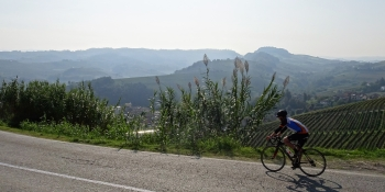 Admire the view along your cycling route