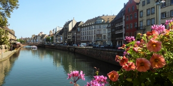 This tour starts and ends in Strasbourg listed as a UNESCO world heritage site