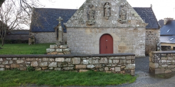 The little chapel of Perros Hamon next to Paimpol in the Côtes-d'Armor