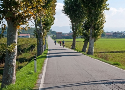 A few of our Veneto cycling trips rally the Dolomites to Venice via traffic-free bikeways