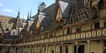 This bike trip will pass by the hospice of Beaune