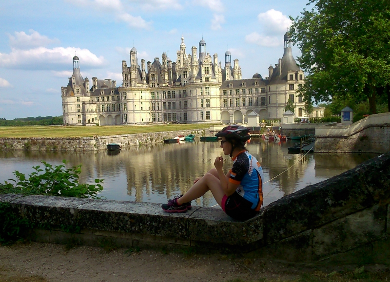 The Chateau de Chambord, near Blois is one of the famous castle in France