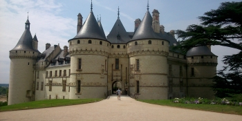 The Chateau de Chaumont sur Loire is on your itinerary