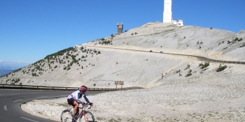 This cycling tour includes an optional ride to Mont Ventoux