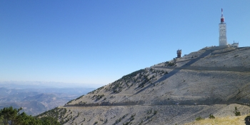 This bicycle tour includes an optional ride up the Giant of Provence: Mont Ventoux