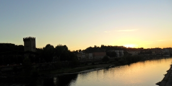 Sunset on the Florence Canal