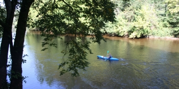 Plenty of outdoor activities like kayaking are available in the region