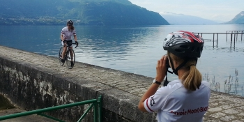 Discovering Lac du Bourget before climbing up to les Bauges Regional Park