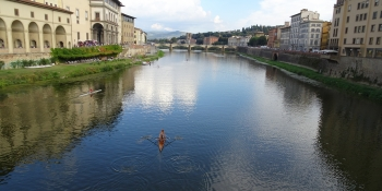 This tour ends in Florence with its beautiful Canal