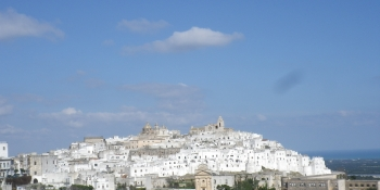 Ostuni, the white town on the hill