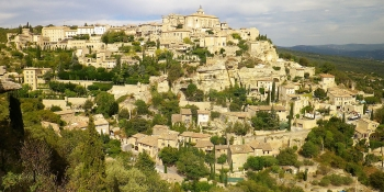 Stunning village of Gordes, perched on its hill