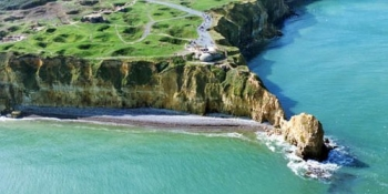 From Bayeux you can cycle to the famous Pointe du Hoc