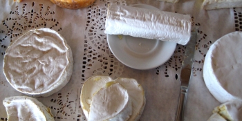 Normandy is very famous for its cheese such as Camembert, Livarot, or Pont l'Eveque