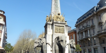 The elephants in Chambery