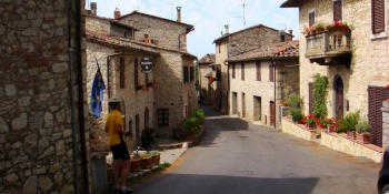 The itinerary takes you pass cozy countryside villages