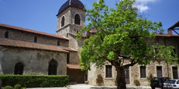 On the ViaRhona tour, you spend a night in the medieval village of Perouges