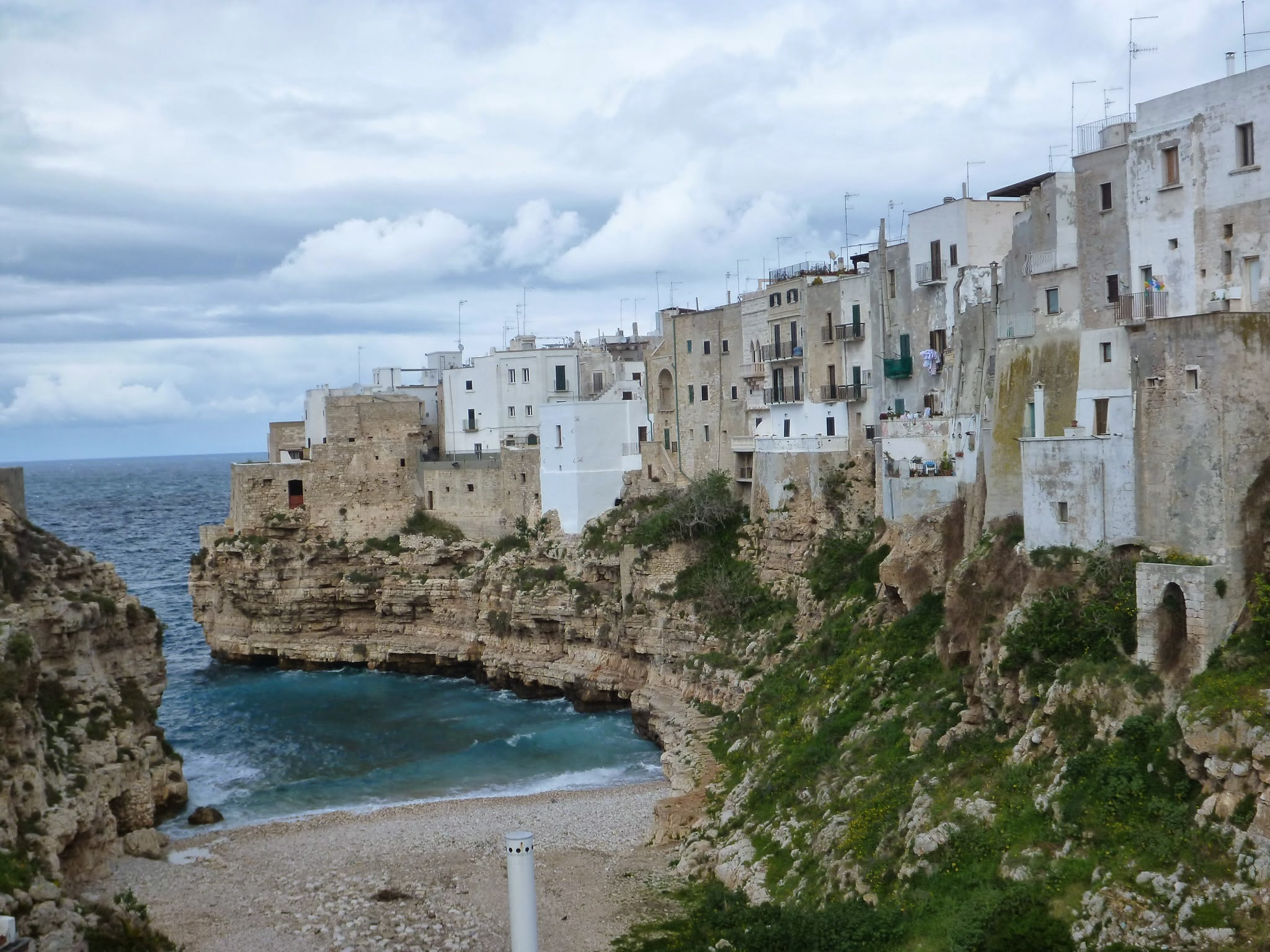 Stunning views of the Adriatic Sea await in Apulia