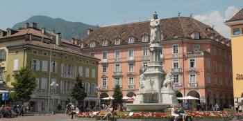 Tour starts from Bolzano.  From there, riders are transferred to Brunico, starting point of the ride.