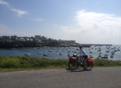 Cycle from harbor to harbor on your bike in Brittany