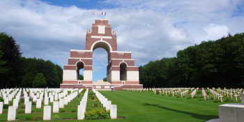 Cycle at your own pace as you experience thought-provoking sites such as the Thiepval War Memorial