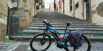 The ceramic tiles steps of Caltagirone