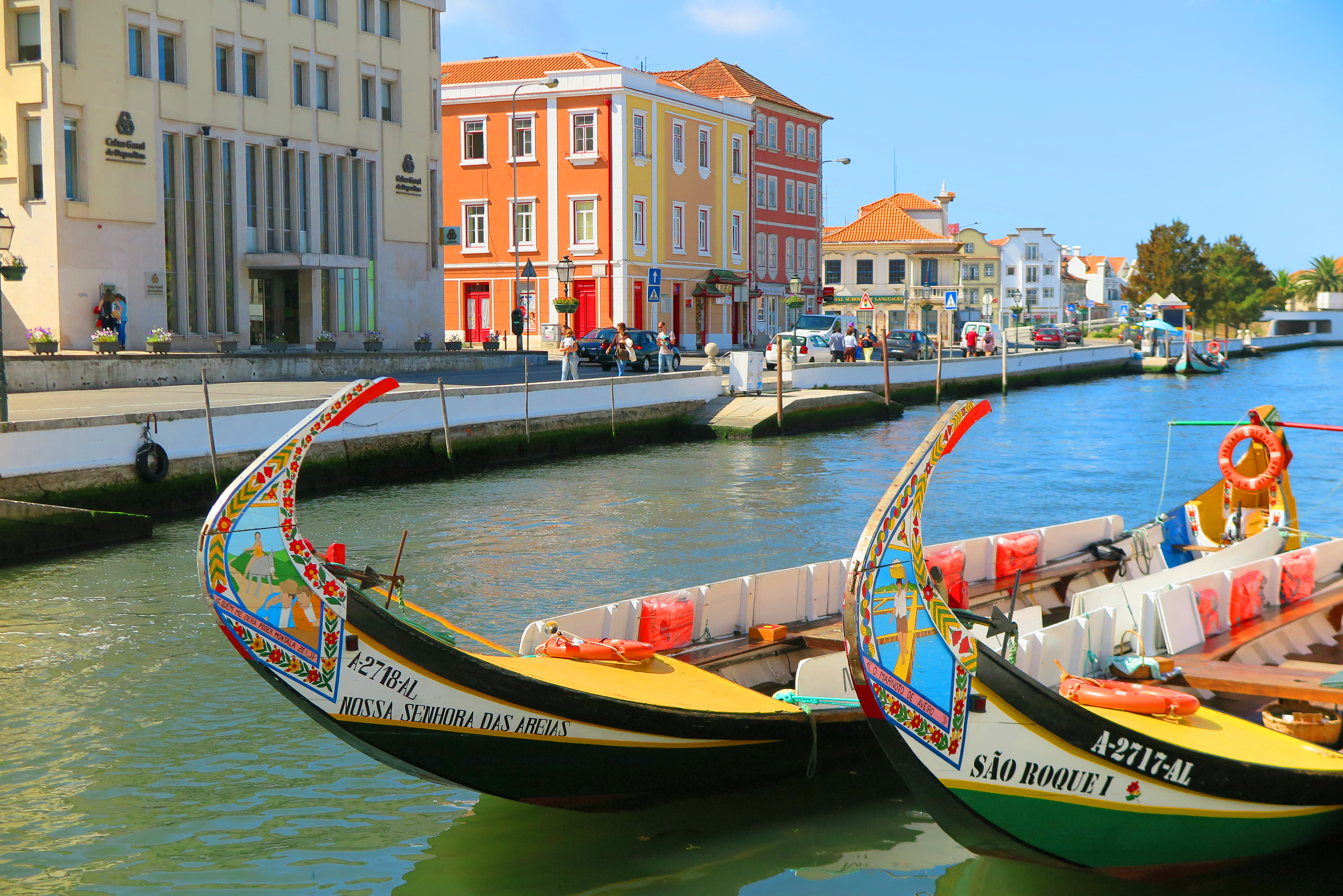 Cycling to Aveiro, Portugal