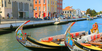 Aveiro typical boats