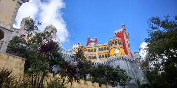 Cycling to Sintra Palace