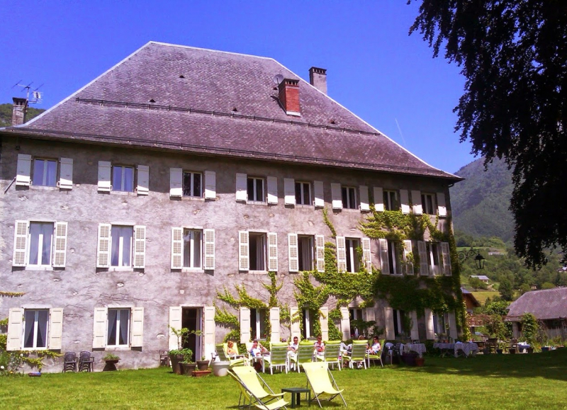 Enjoy a well-earned rest in the magical Château des Allues