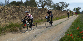 Each day the itinerary involves a different loop to ride from Girona into te Catalonian countryside