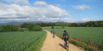 Enjoy riding through a variety of landscapes by gravel bike during this cycling holiday